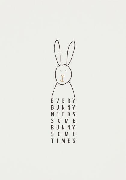 Postkarte Every Bunny