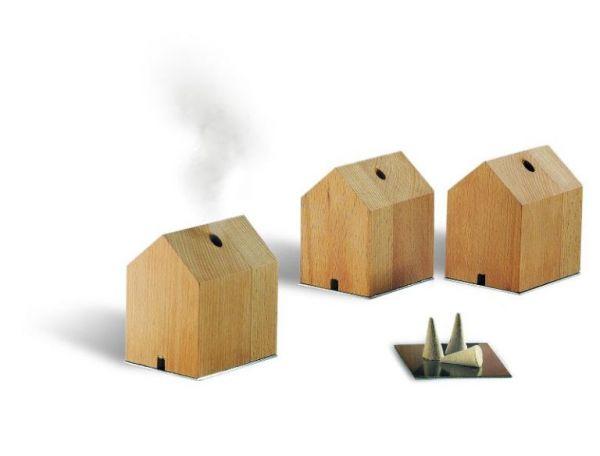 Rauchhäuschen Buchenholz