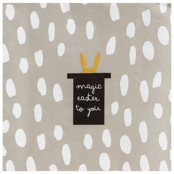 "Serviette ""Magic Easter"" 33/33 cm"
