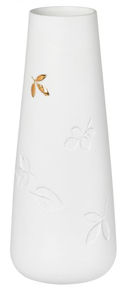 "Vase mit goldenem Blatt ""klein"""