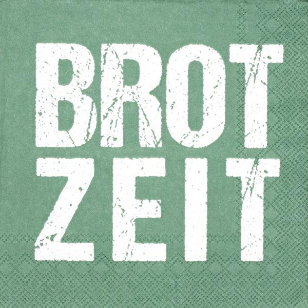 """Serviette """"Brotzeit"""" 33/33 cm"""