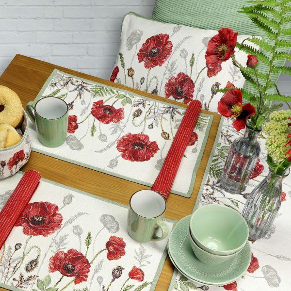 Tischset Poppy Meadow