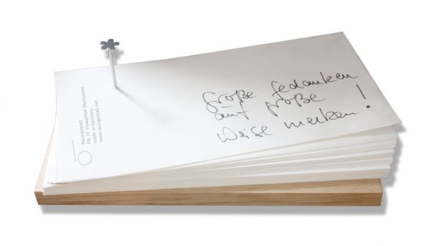 Notizzettel Flowernail groß