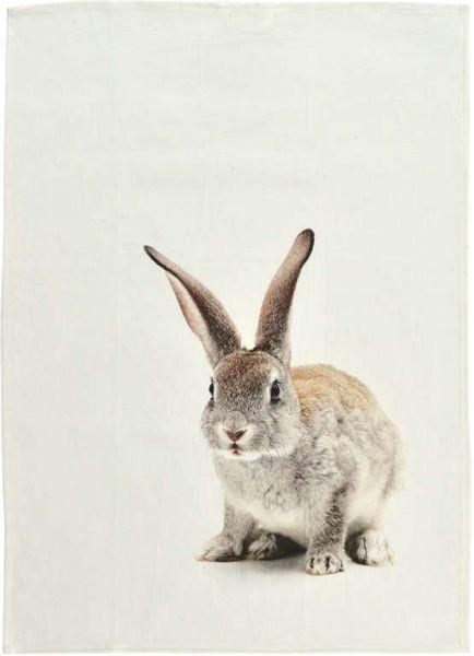 Geschirrtuch One Rabbit, One Cow, OneDeer