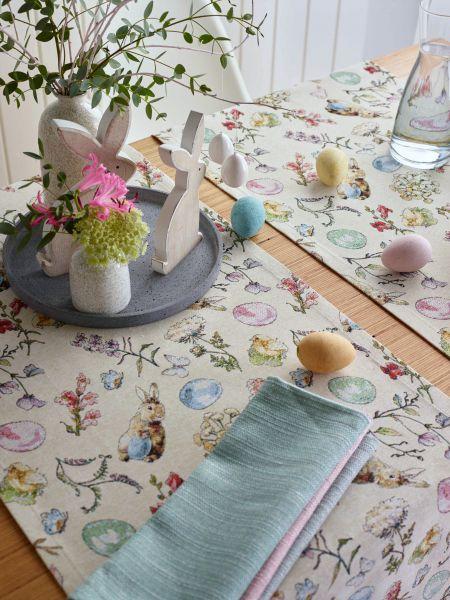 Tischläufer Garden Jacquard