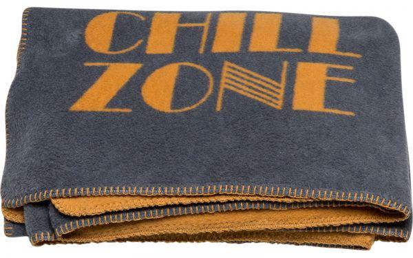 "Wolldecke ""chill zone"""