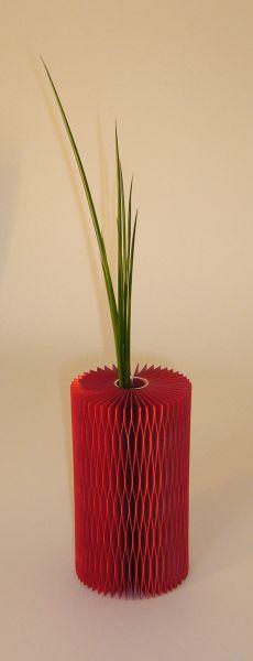 Vase Favino aus Wabenkarton