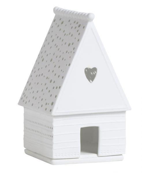 Mini Lichthaus Lebkuchenhaus Herz